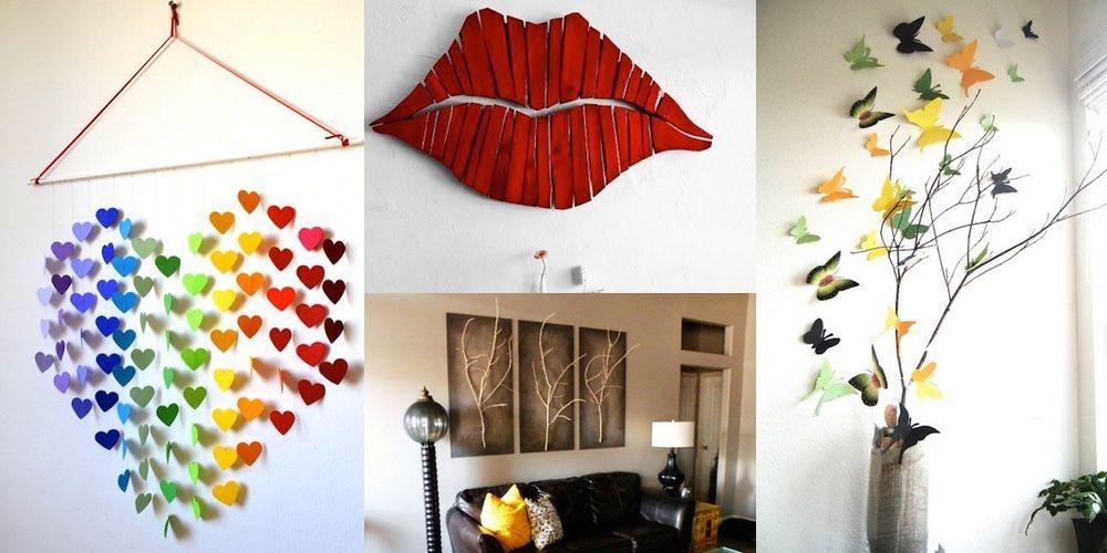 20 Increíbles formas de decorar las paredes de tu casa casi gratis