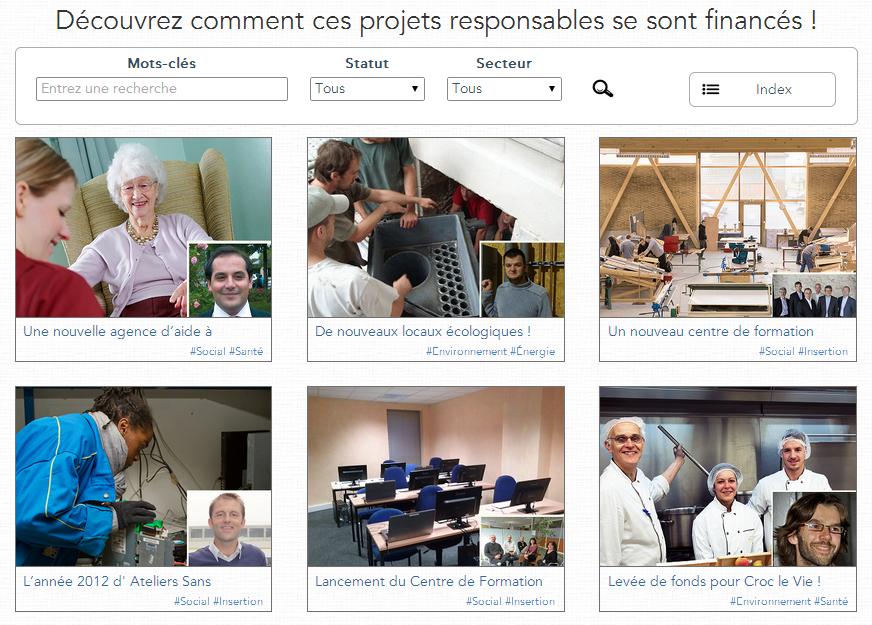 Un nouveau portail pour le financement responsable, créé par SPEAR » SPEAR, le Blog
