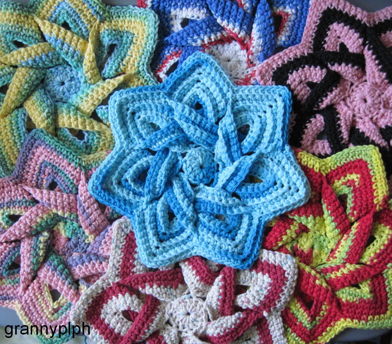 Http Round Crochet Potholder Patterns
