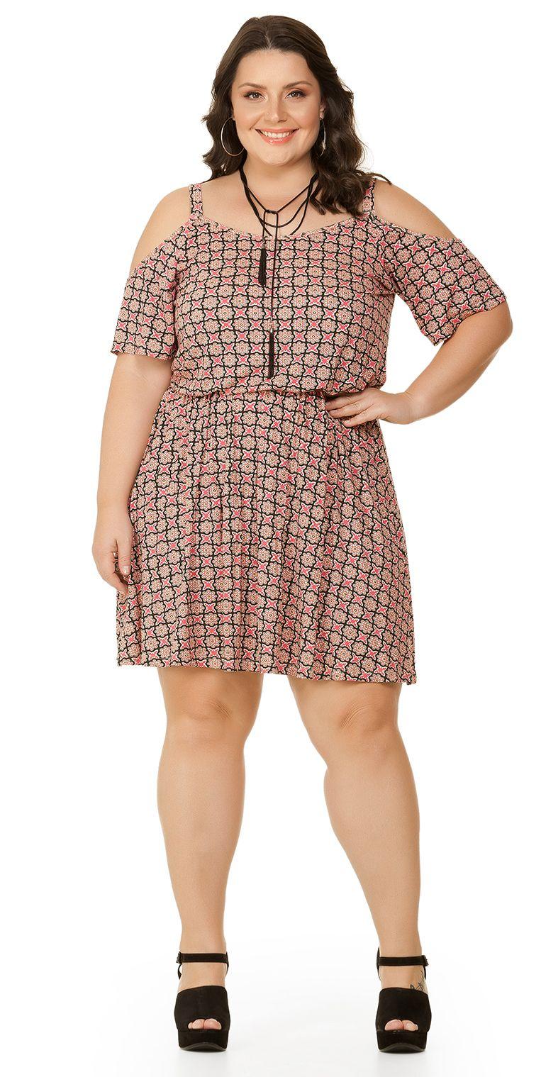 104484573a  estilo  modaplussize  estiloplussize  eusouplus  meuestiloplussize  beline   belineplussize  plussize  vestido  vestidocurto  vestidociganinha   ...