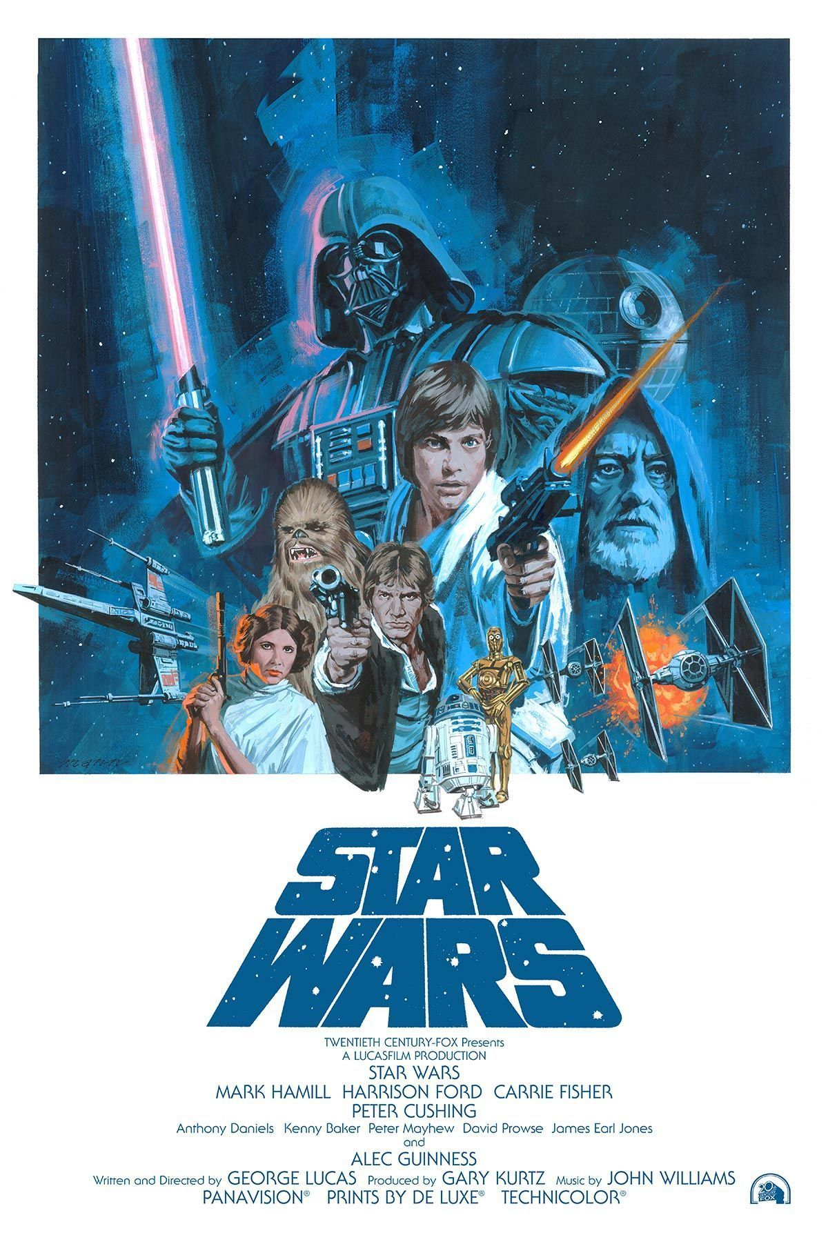 Star Wars Episode Iv A New Hope A Episode Hope Iv New Star Wars Starwars4fullm Star Wars Painting Star Wars Movies Posters Star Wars Canvas Art