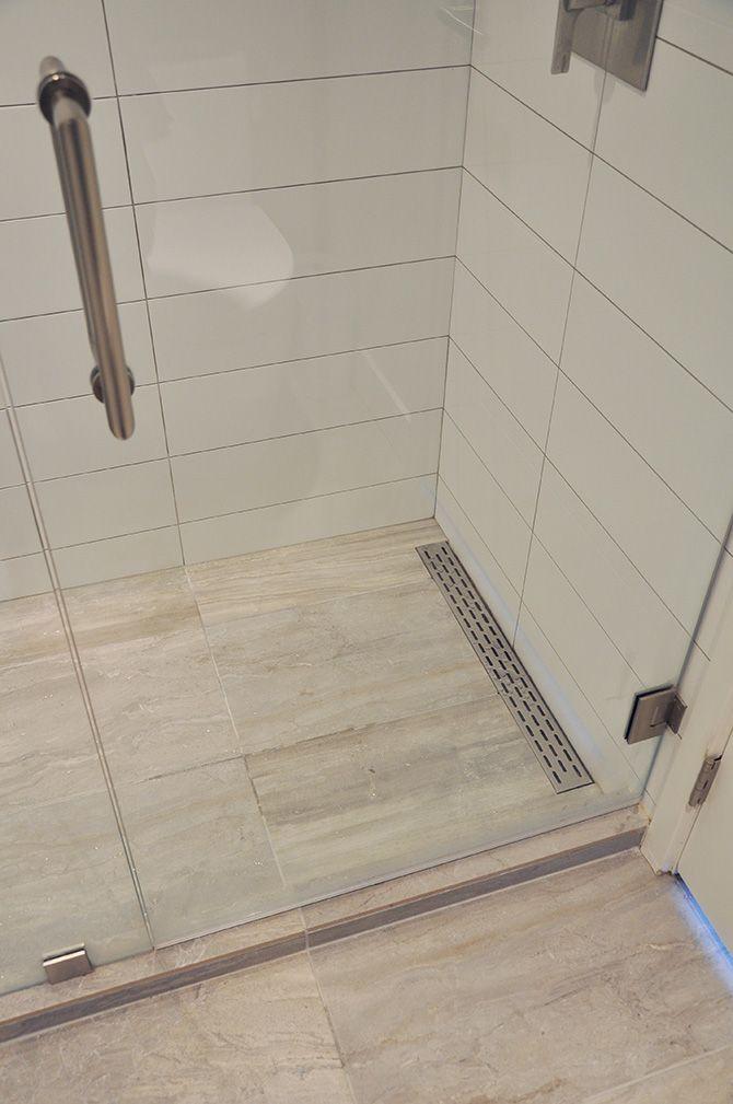 Linear Shower Floor Drain Ralo De Banheiro Decoracao Do