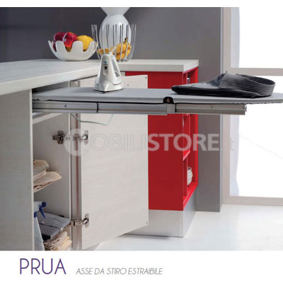Dispositivo prua per asse da stiro estraibile piano 960 for Asse da stiro ikea