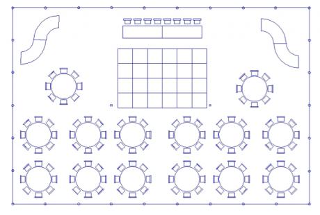 Print Wedding Seating Chart for 200 people – Wedding Seating Chart Printable