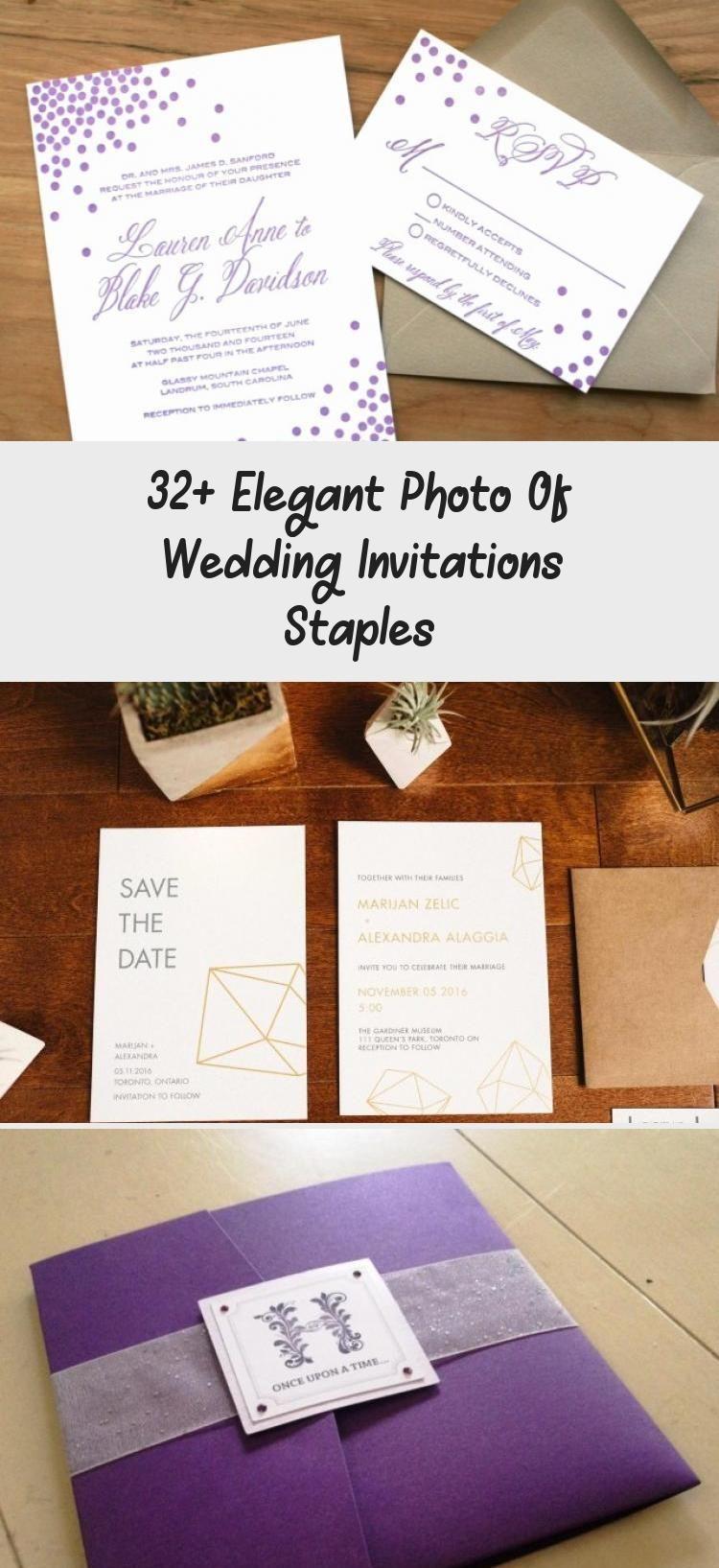32 Elegant Photo Of Wedding Invitations Staples Staples Wedding Invitations Wedding Invitations Wedding Invitation Kits