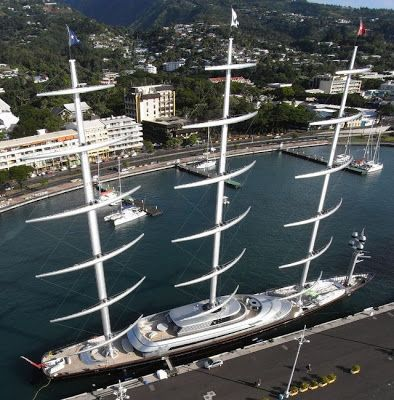 $100 Million Maltese Falcon yacht is a clipper sailing luxury yacht, commissioned and formerly owned by American venture capitalist Tom Perkins. It is one of the largest privately-owned sailing yachts in the world at 88 m (290 ft)