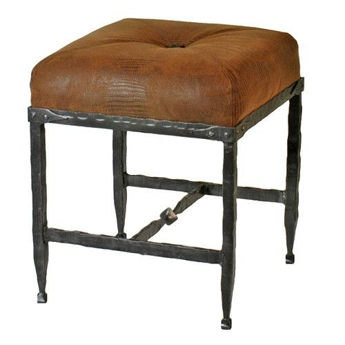 Foresthills Bedroom Large2: Stone County Ironworks Forest Hill Footstool