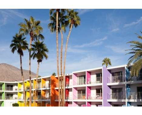 candy colored hotel