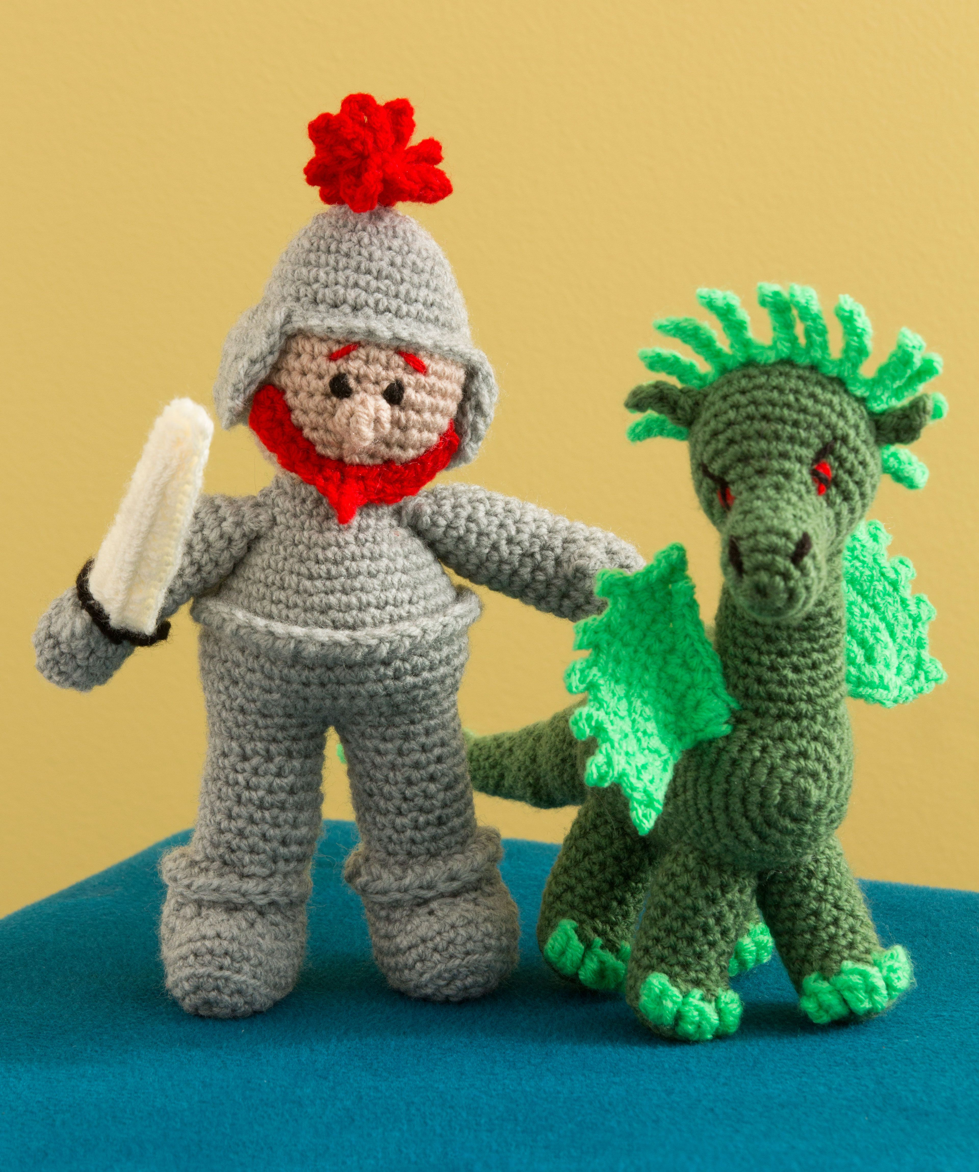 St. George and the Dragon Free Crochet Pattern from Red Heart Yarns ...
