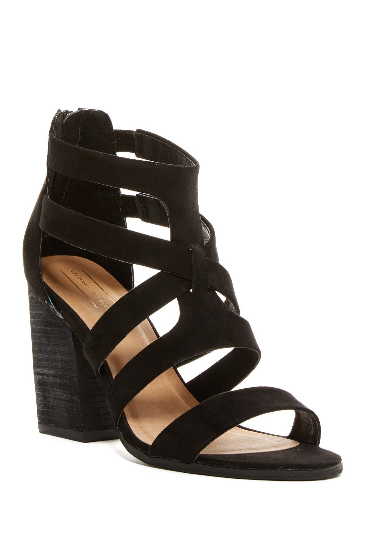 6d01cb9718d Rory Strappy Block Heel Sandal by Melrose and Market on  nordstrom rack