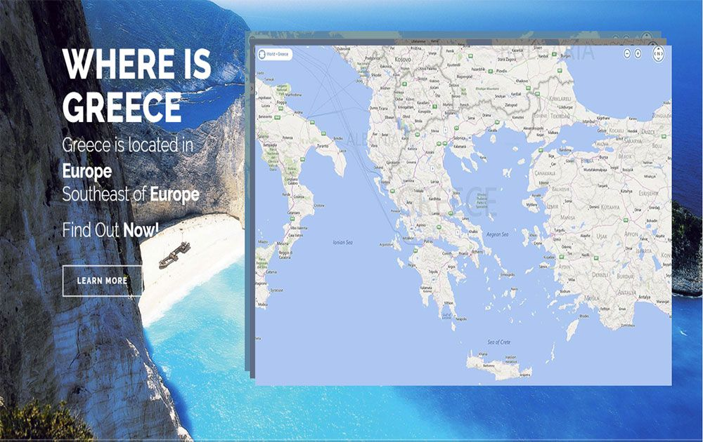 Where Is Greece The Exact Location Of Greece In Europe Greece - Where is greece located