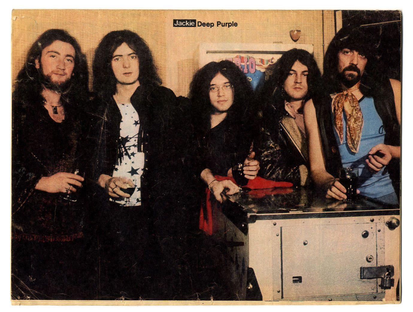 DEEP PURPLE - JACKIE - 1 MAY 1971*   Deep purple, Purple, Jon lord