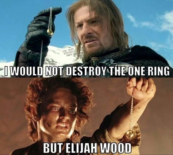 "50 ""Lord Of The Rings"" Memes Guaranteed To Make You Laugh"