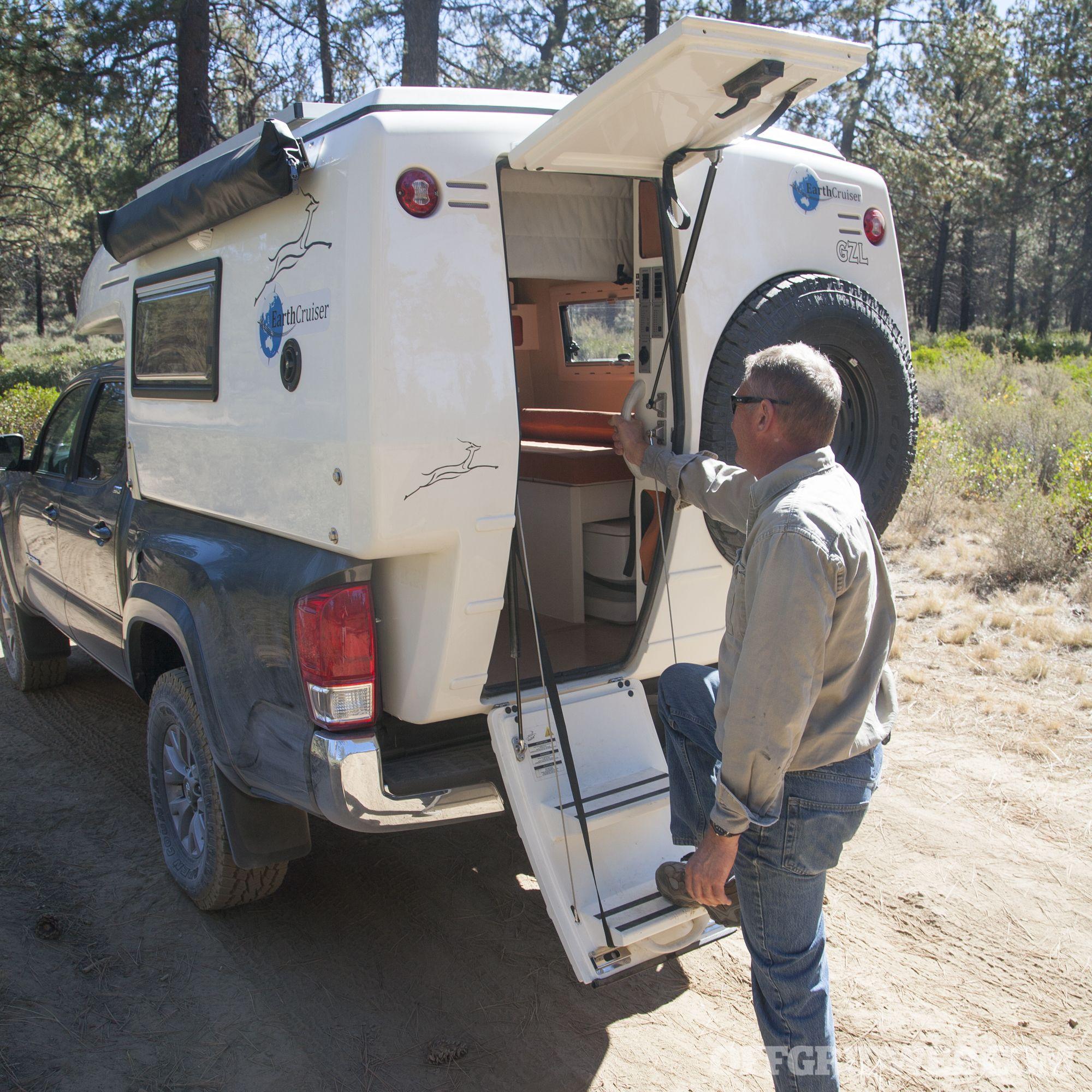 Image result for Truck Bed Camper Jack Truck bed camper