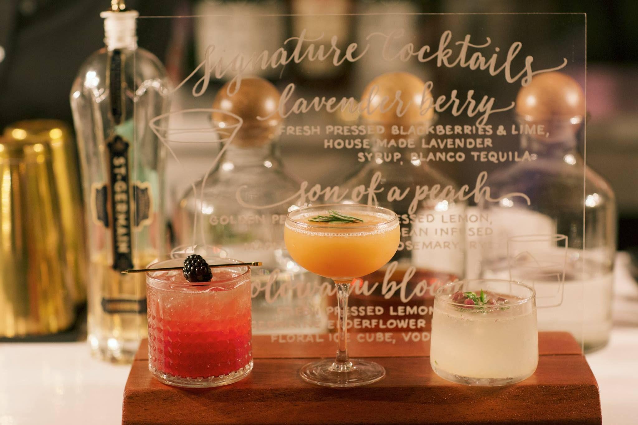 luxury wedding cocktails by garnish wedding by belle destination