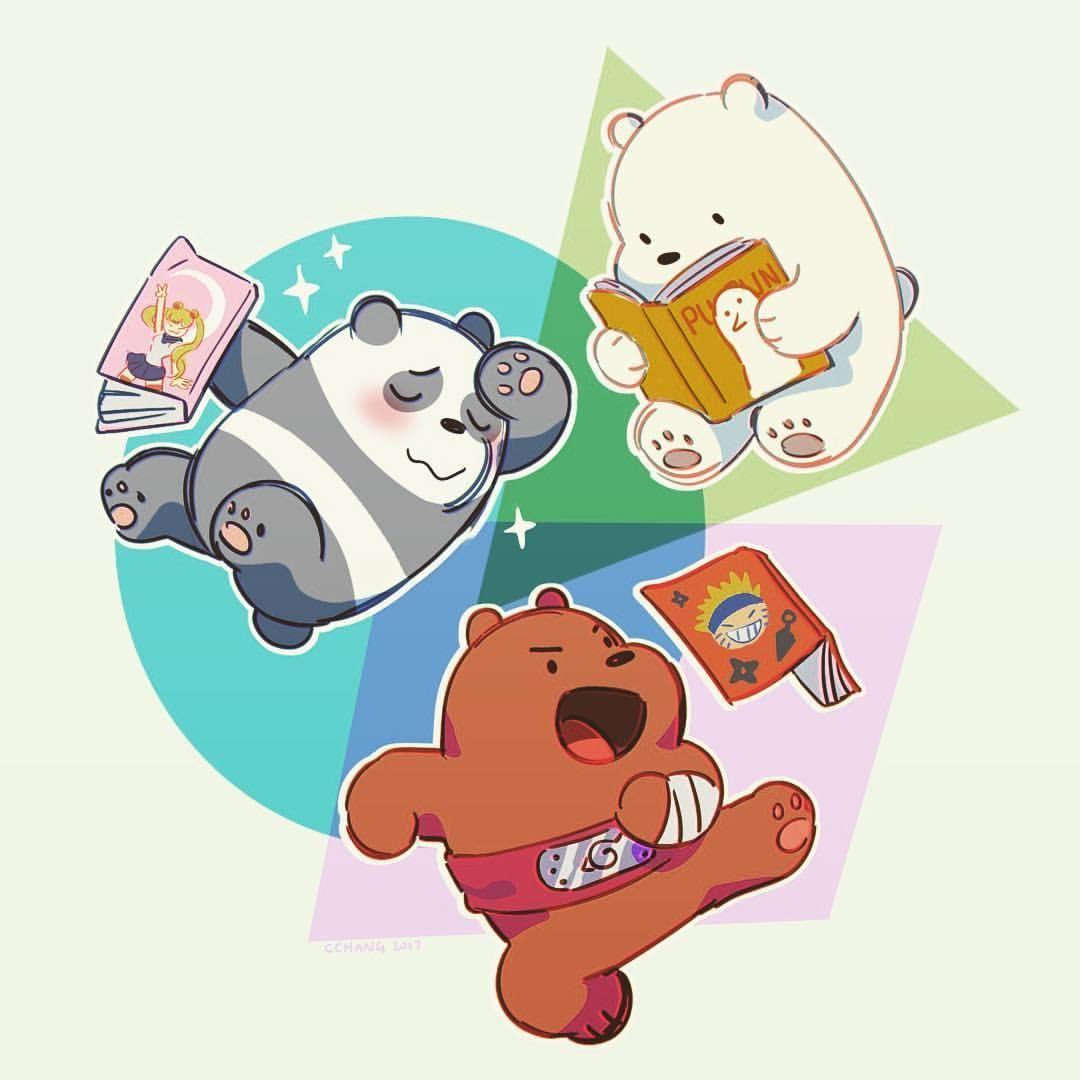 Tail rub   We Bare Bears
