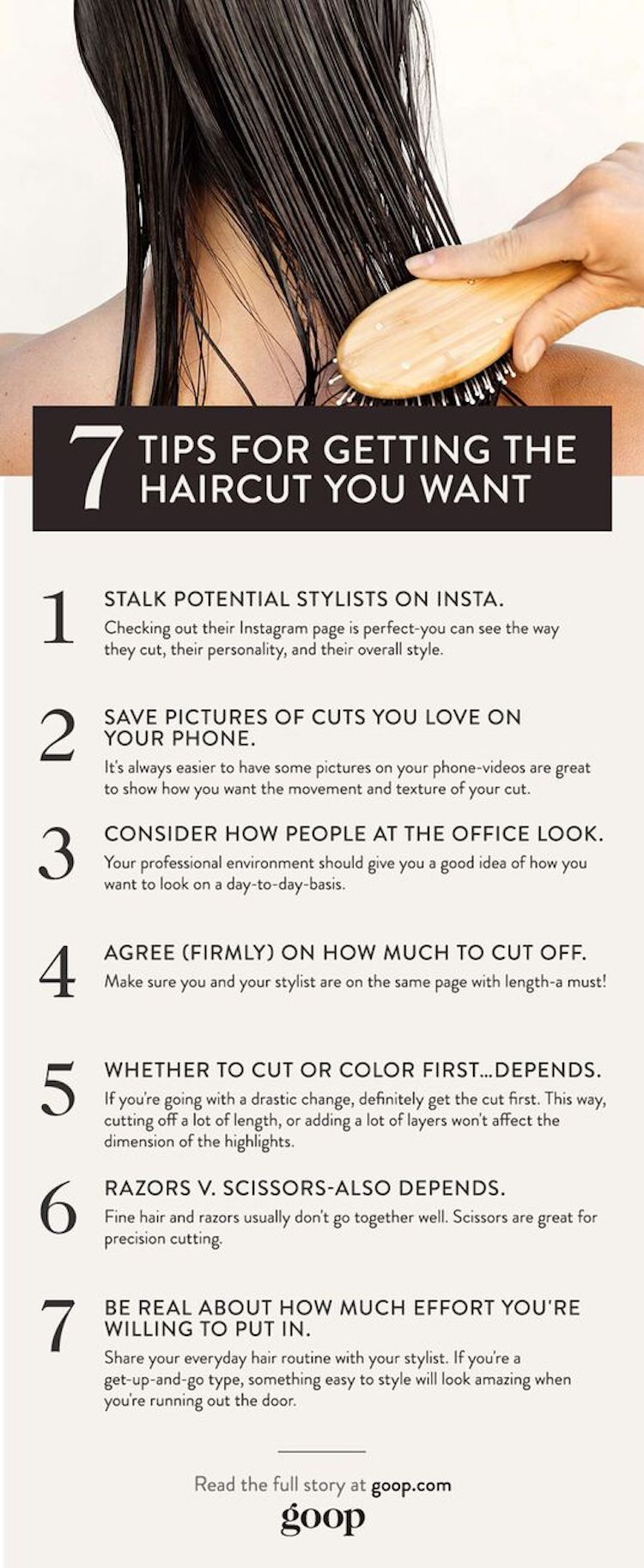 7 Ways To Get A Better Haircut Pinterest Haircuts Diy Hair And