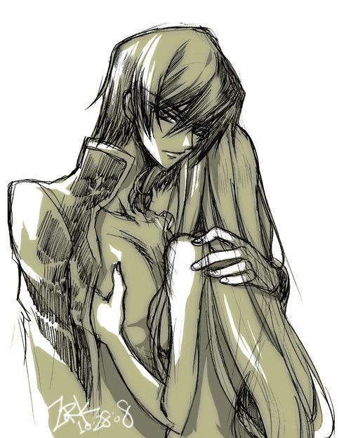 Lelouch X C C Lelouch Just Looks Like Quot Don T Touch Her