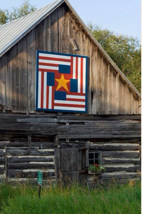 Door County Barn Quilt Painted Barn Quilts Barn Quilt Designs Barn Quilt Patterns