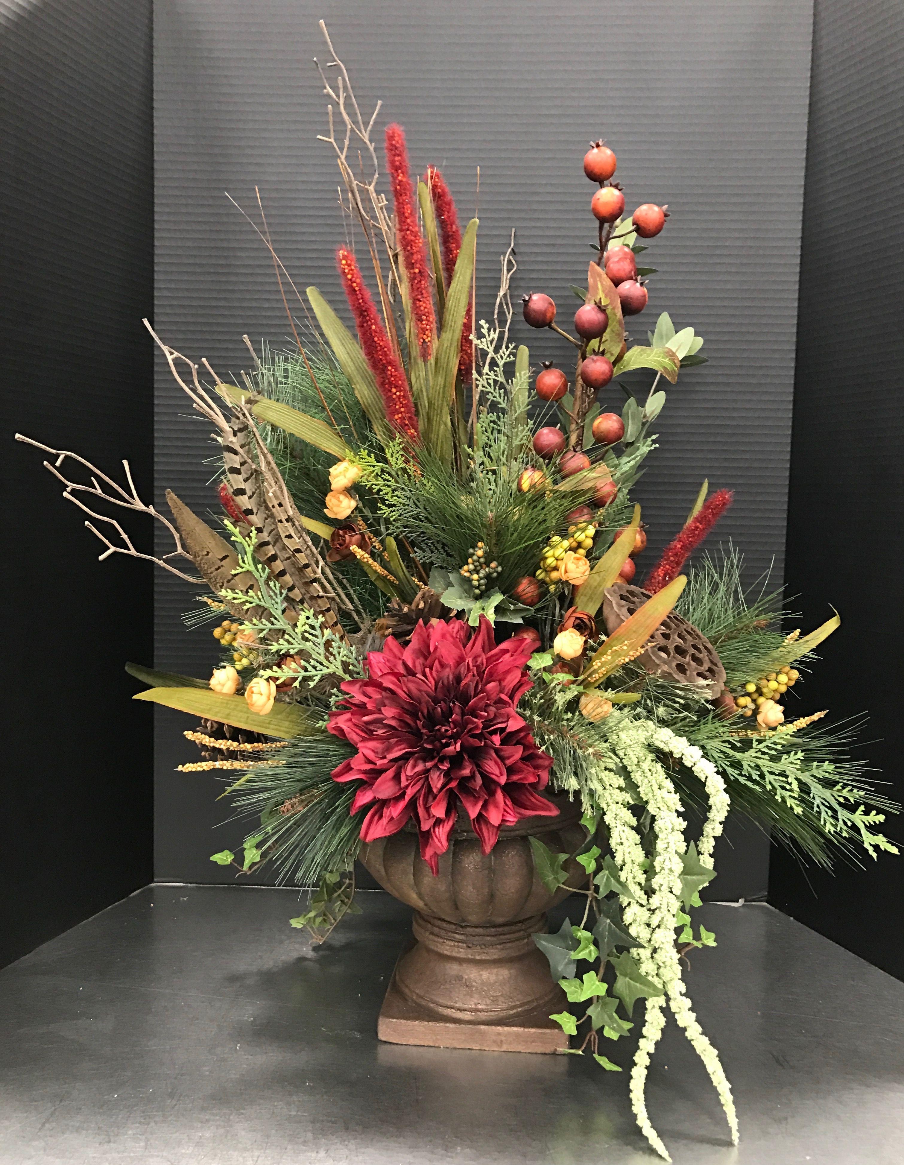17+ Fall faux floral arrangements ideas