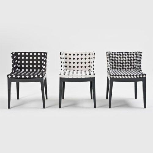 chaise design: mademoiselle n&b de philippe starck pour kartell ... - Chaises Philippe Starck Kartell