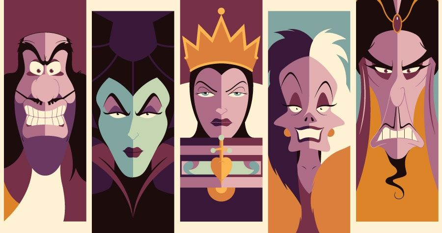 Disney Villains Maleficent Art