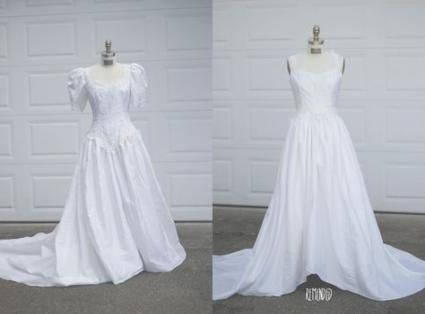Photo of 69 Trendy Diy Wedding Dress Upcycle Thrift Stores