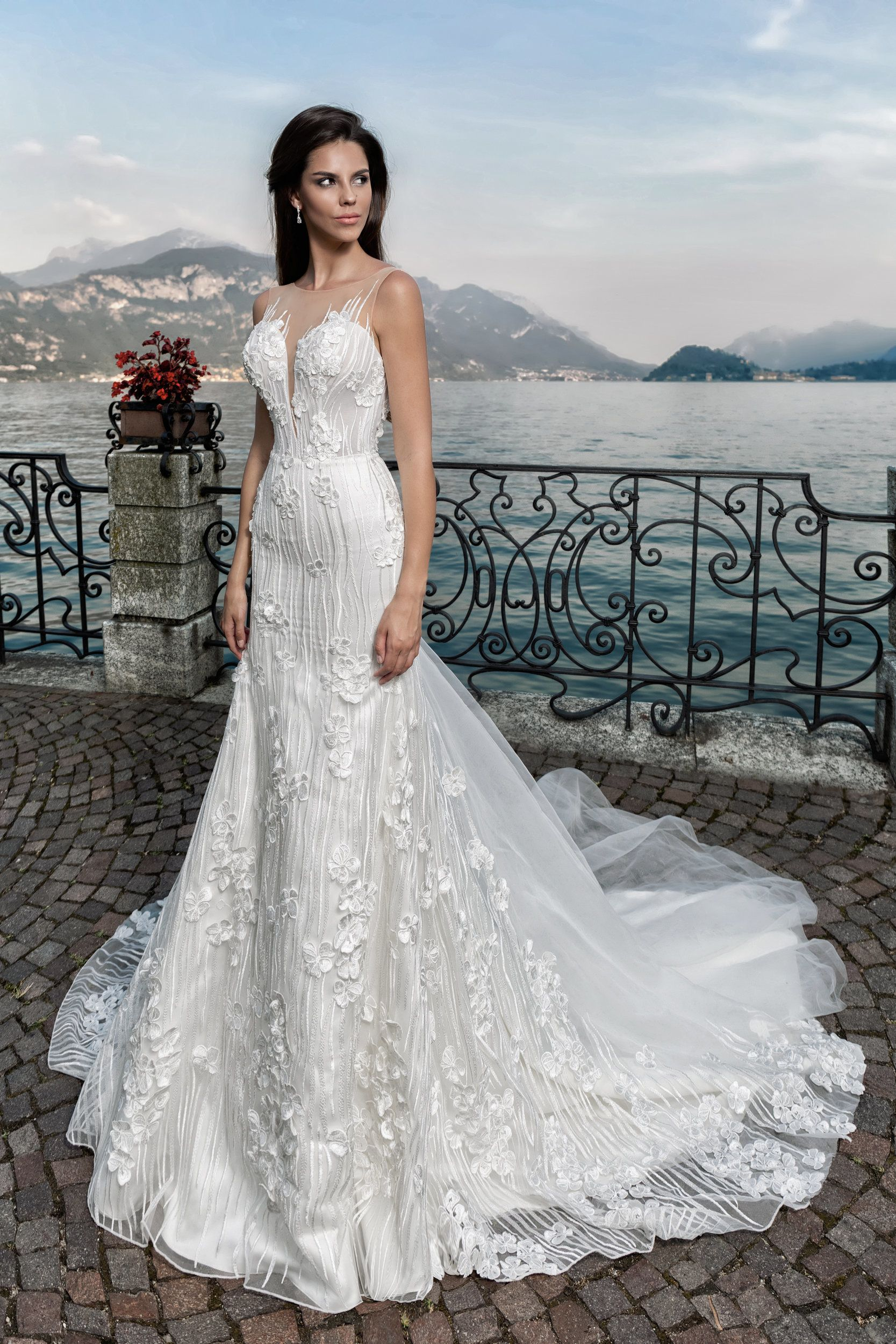 6635cac1ff wedding dress by MISTRELLI COUTURE ONLY at CHARMÉ GABY BRIDAL GOQN Boutique  Clearwater FL