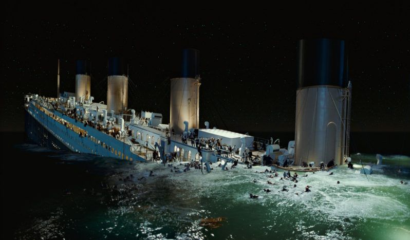 Titanic 1997 Cameron In 2020 Titanic Sinking Titanic Movie Titanic