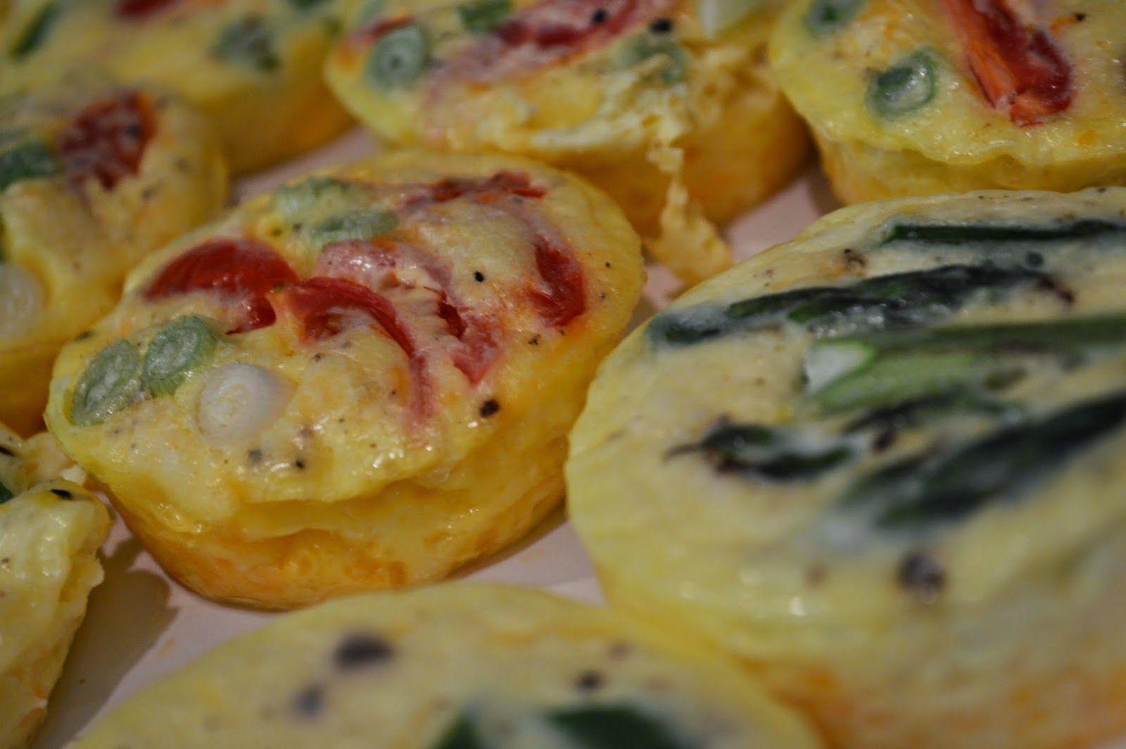 peace. love. & good food.: Crustless Mini Quiches