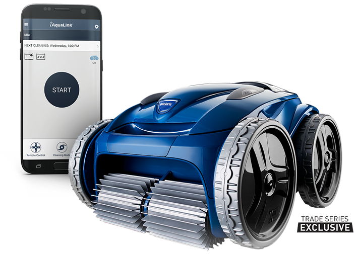 The Polaris 9650iq Sport Robotic Pool Cleaner Provides Premium Cleaning Performance With The C With Images Automatic Pool Cleaner Pool Cleaning Best Automatic Pool Cleaner
