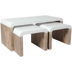 Table Basse 2 Tabourets Table Basse Table Tabouret