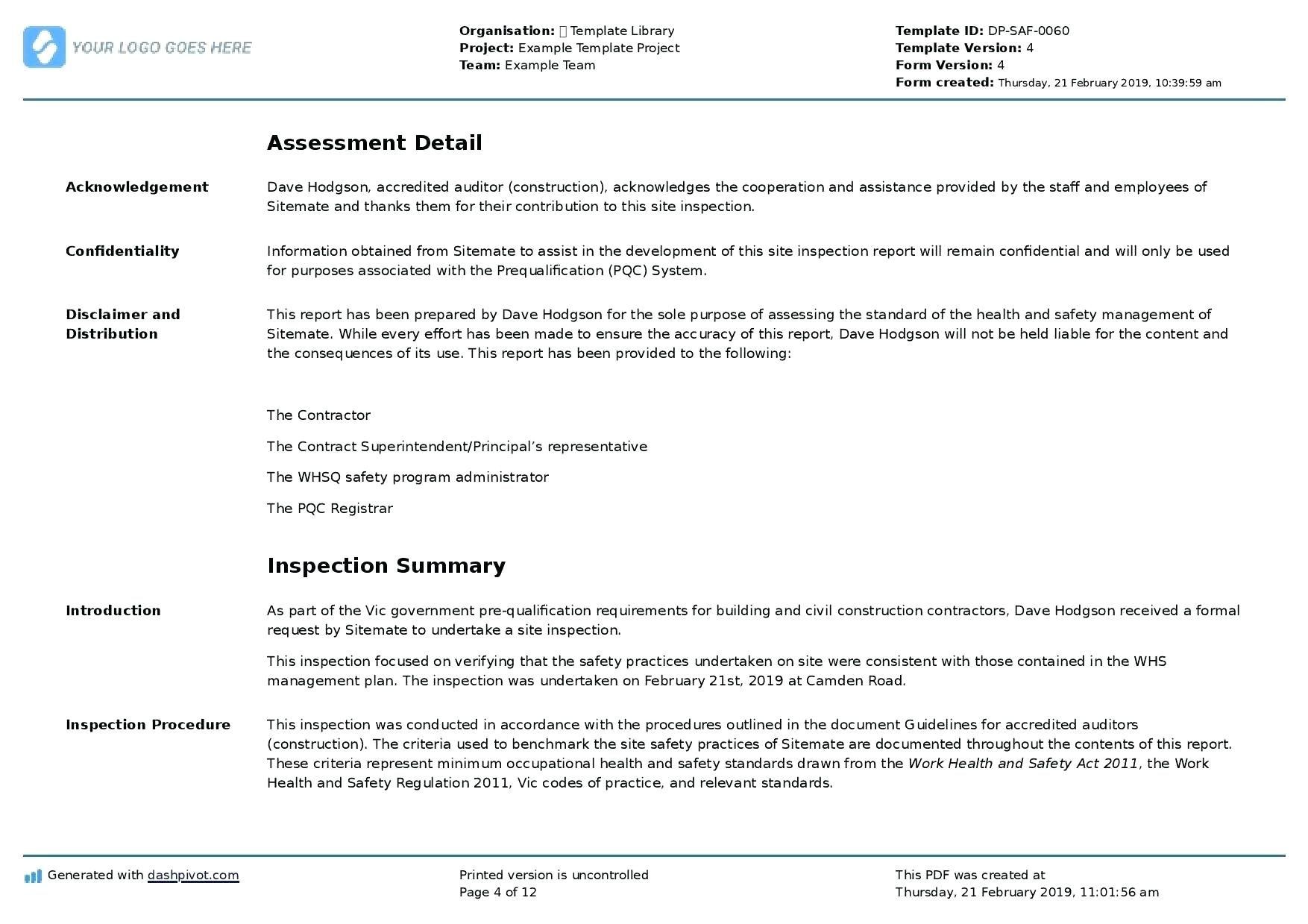 Training Acknowledgement Form Template Vmarques In Training Summary Report Template Great Cretive Templates Report Template Templates Book Report Templates