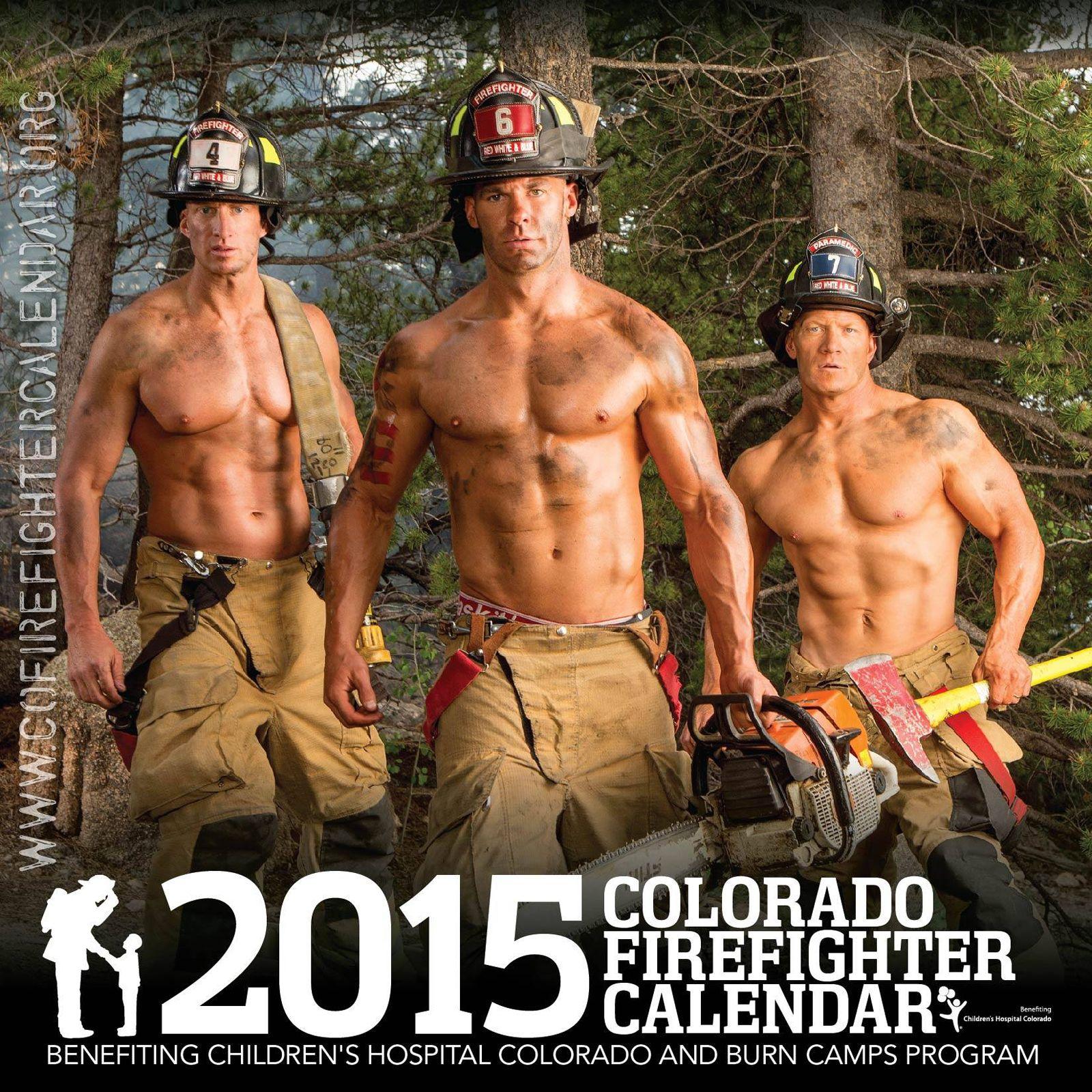 2015 Colorado Firefighters Calendar Hot Firemen Always Make For A