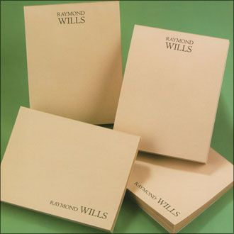 Personalized Notepads for Business, CEO Design 400 Sheet Set