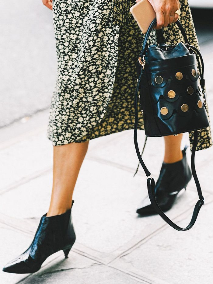 These Are the Ankle Boots Everyone Wants, According to Pinterest via @WhoWhatWear