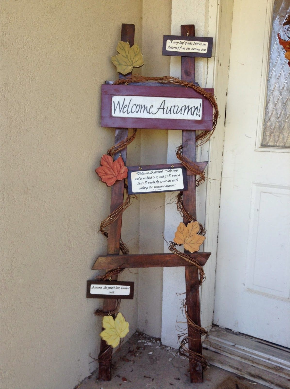 The fall nerdus crafts fall decor pinterest