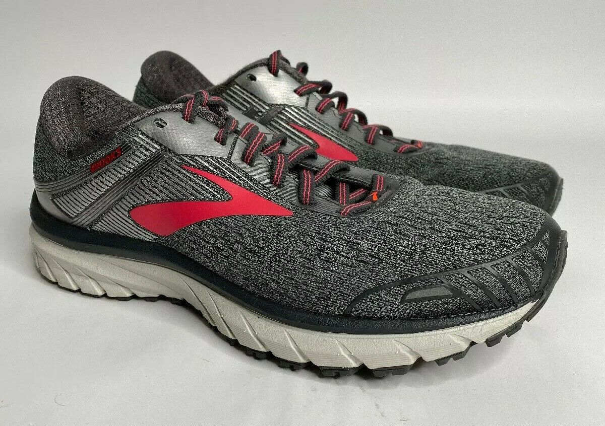 Brooks Adrenaline Gts 18 Running Shoes Gray Athletic Sneakers Womens Size 8 5 Brooks Shoes For Women Ideas Of Brooks Sho