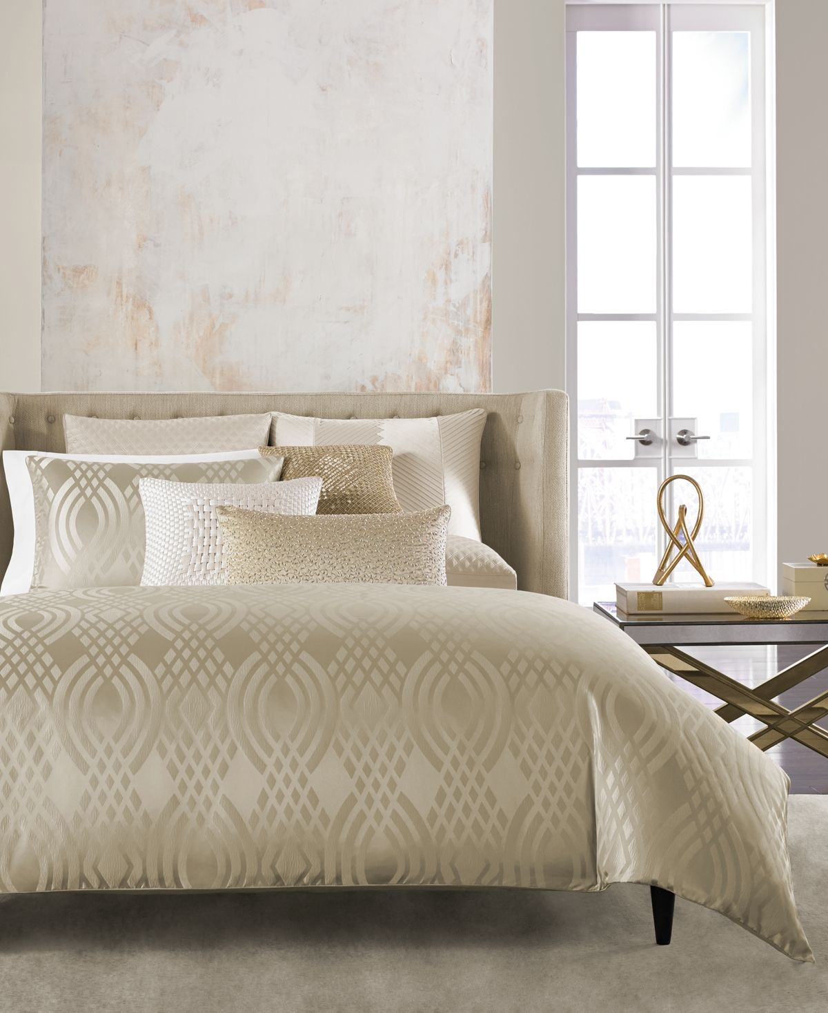 Dimensions Champagne Comforters