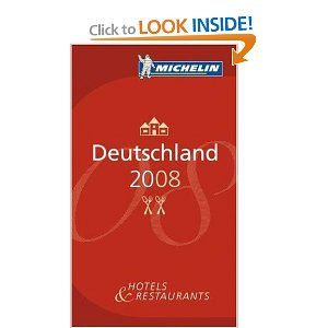 Michelin Red Guide 2008 Deutschland (Michelin Red Guide Deutschland) by Michelin. $4.00. Publication: January 15, 2008. 1512 pages. Publisher: Michelin Travel Pubns; 35 edition (January 15, 2008). Series - Michelin Red Guide Deutschland