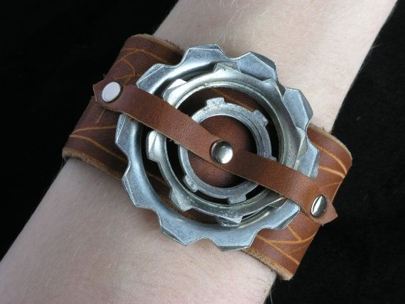 Cuff for my Steampunk, Firefly-inspired outfit.