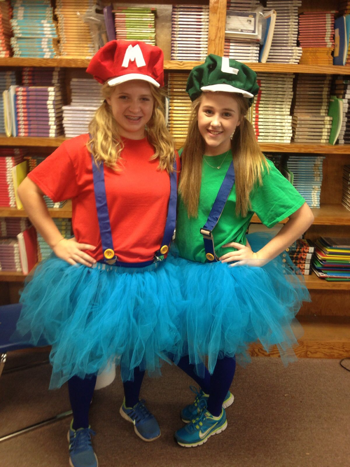 Mario and Luigi for character day spirit home ing week