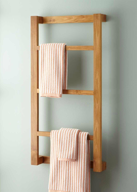 The Simple Wulan Hanging Bathroom Shelf Is Elegantly Designed For