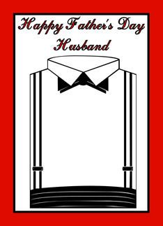 Happy fathers day to husband from wife greeting card how i love happy fathers day to husband from wife greeting card m4hsunfo