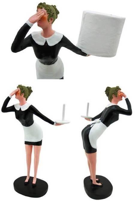 Novelty Funny Toilet Roll Holder