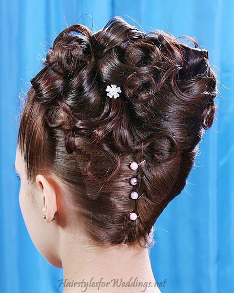Elegant Wedding Hairstyles For Long Hair: I Can't Pull This Off Bc My Hair Isn't Long Enough, But