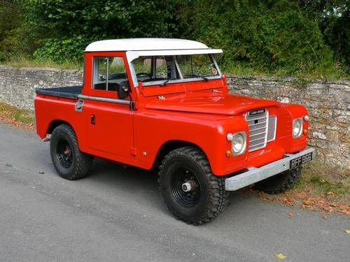 1961 Land Rover Series Ii Land Rover Land Rover Series Land