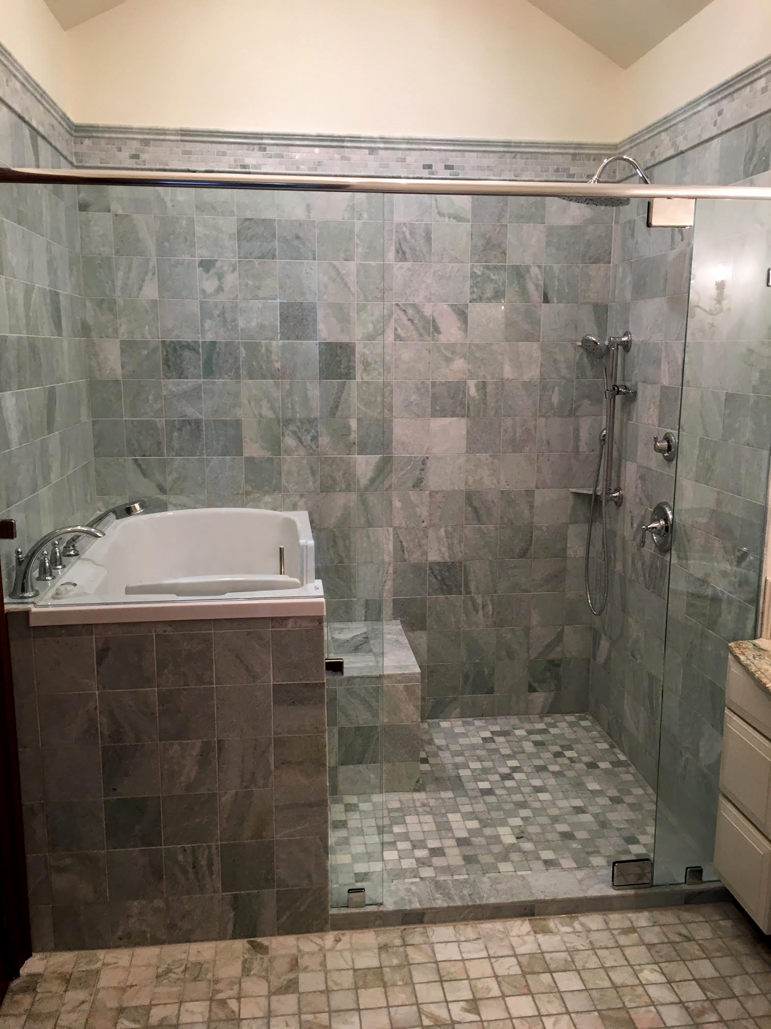Surprising Walk In Shower With Tub Combo Pictures - Best Ideas ...