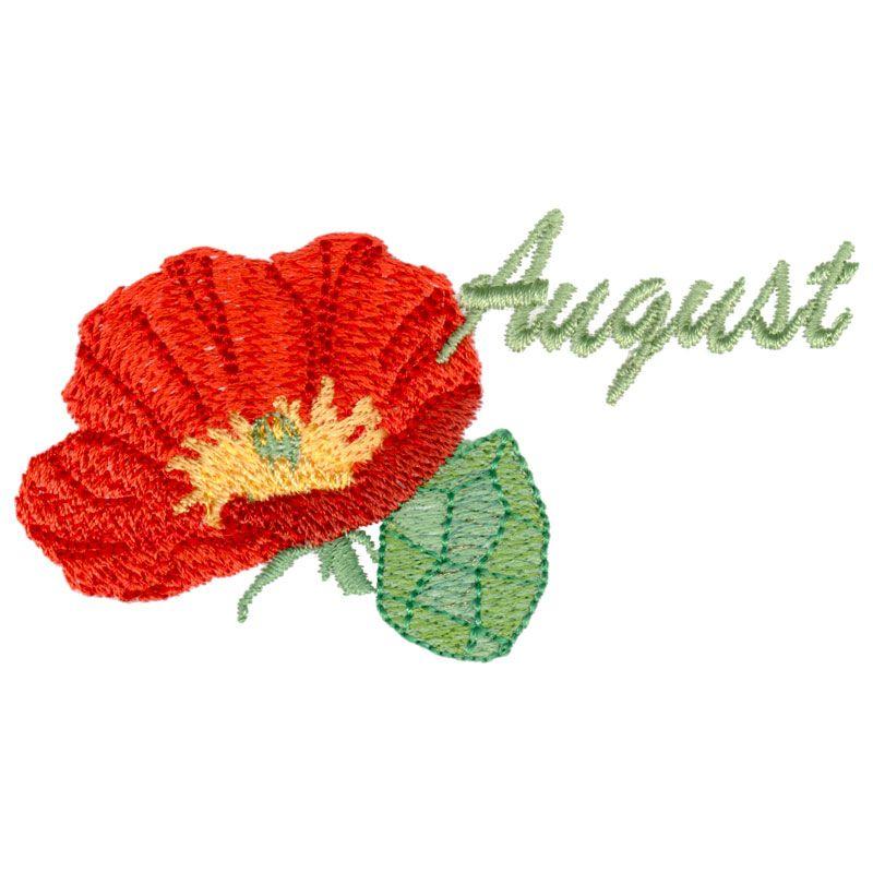 August - Poppy & Peridot