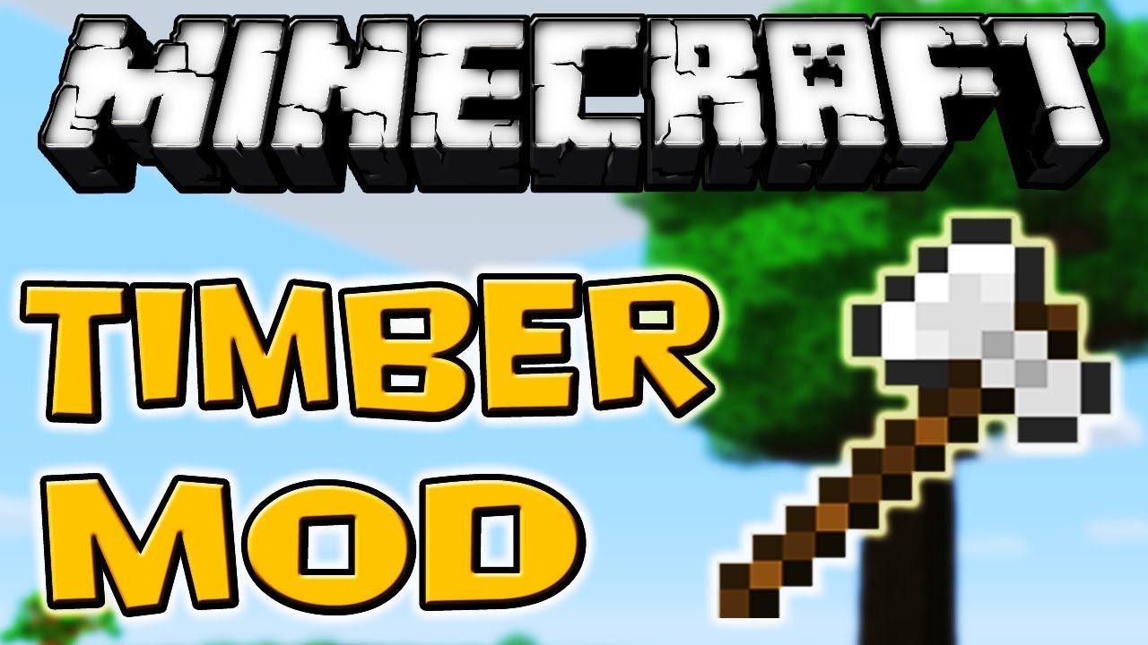 Timberjack Mod Minecraft Mods Minecraft Tree Felling